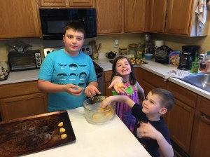 My middles baking a treat.